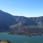 """Der Kratersee und der """"neue"""" Vulkan"""
