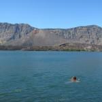 Der erfrischend kühle Kratersee