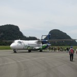 Unser Flugzeug nach Mulu