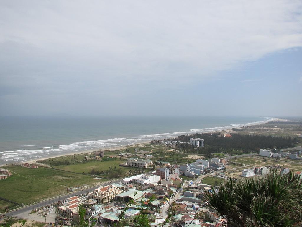 12 Km Strand nördlich von Hoi An