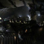 Einstieg in die Höhle hinein